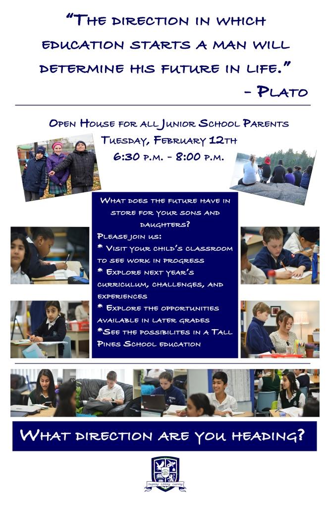 Junior School Open House - February 2013