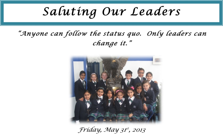 Microsoft Word - Saluting Our Leaders.docx